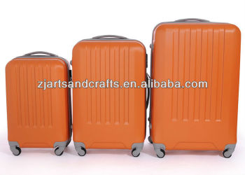 New Fashion Orange Hard suitcase sets