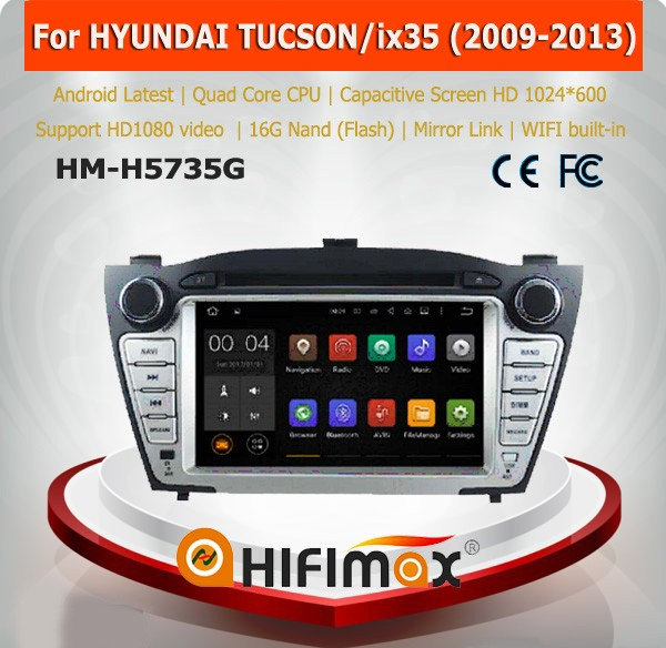 Hifimax car multimedia for Hyundai IX35 for hyundai tucson android car dvd for hyundai tucson gps dvd