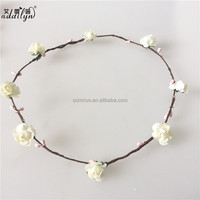 beige handwork 2 colors wreath ring wholesale