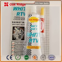 white RTV Silicone GASKET MAKER High quality neutral curing Acidic Silicone Sealant