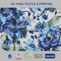 Floral printing wholesale polyester spandex fabric for swimsuit/bikini/swimwear