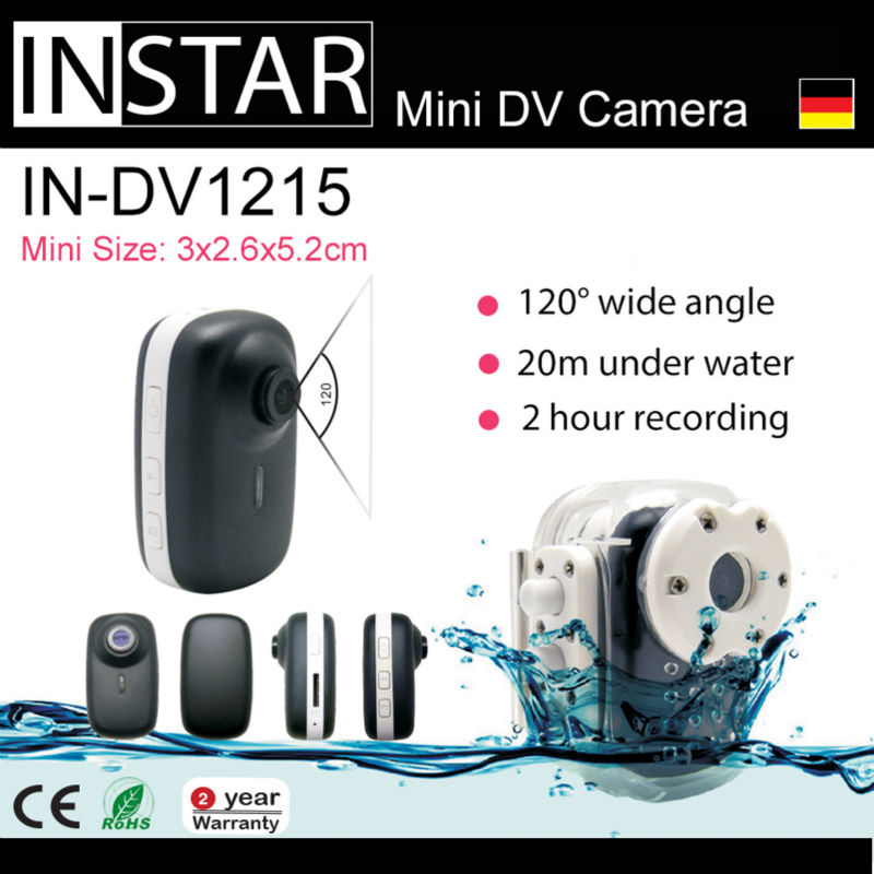 2013 NEW INSTAR IN-DV1215 Mini DV Camera for Car Driver