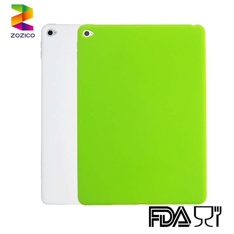 High quality Silicone protecting cover silicone tablet case for Ipad air 2