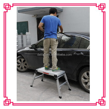 aluminum platfroms stairs, aluminum folding bench, car wash used ladder