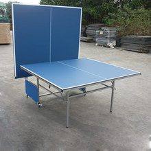 Comfortable new design indoor ping-pong table with folding