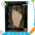 fashion scary doorbell electric bloody hand doorplate halloween props china