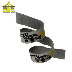Wholesale nylon curling moire different types textile custom elastic printed grosgrain ribbon