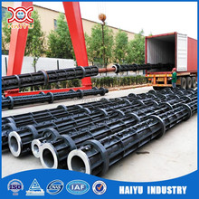 China new type concrete electric pole making mould electric concrete pole production line