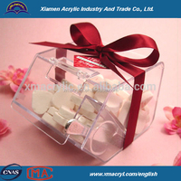 Hot sell Clear Acrylic Bulk Food bin / acrilic candy box