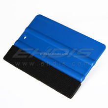 Ehdis hard plastic scraper car squeegee window tint tools with felt squeegee