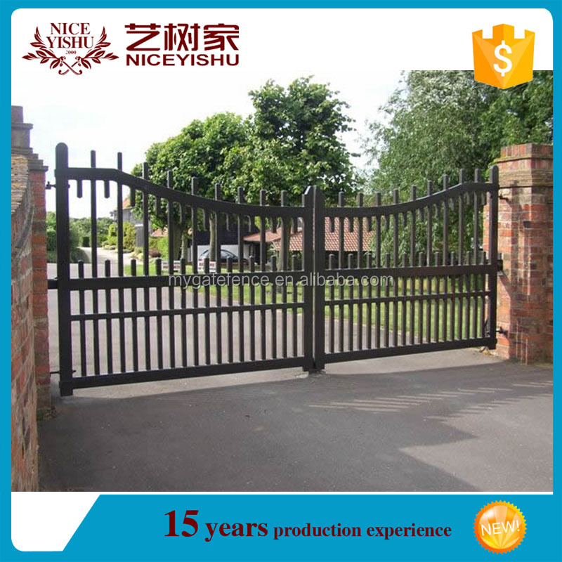 Latest main gate designs iron pipe gate design indian for Latest main gate designs