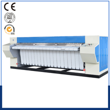 gas sheet commercial laundry flatwork ironing machine