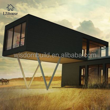 2018 New Design Ready Made Steel Structure Cheap Export Prefab House