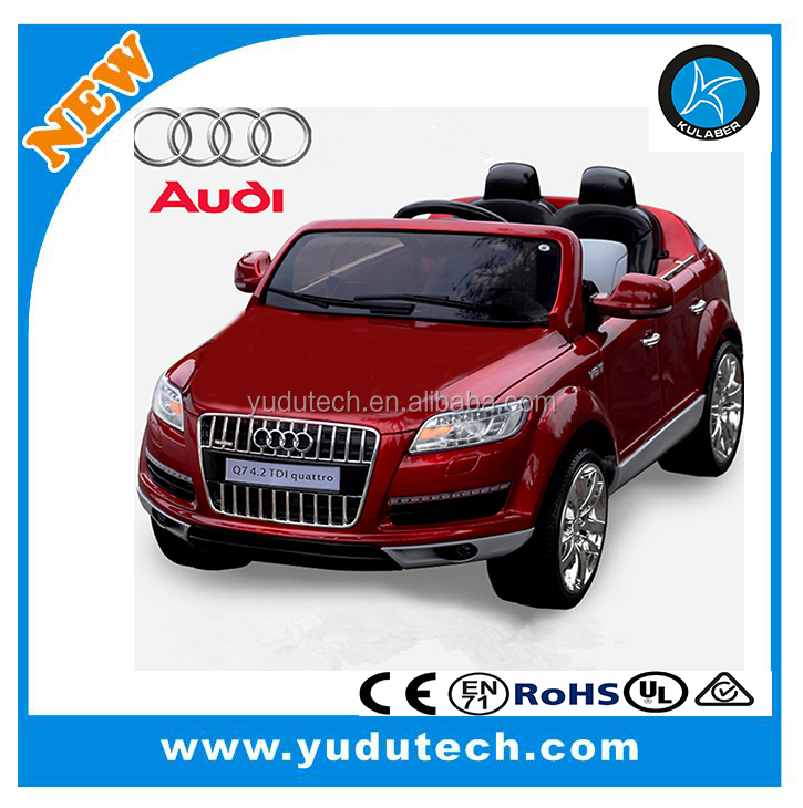 License Audi Q7 ,remote control baby electric car,kids battery powered Mp3 2.4G bluetooth remote control ride on toys