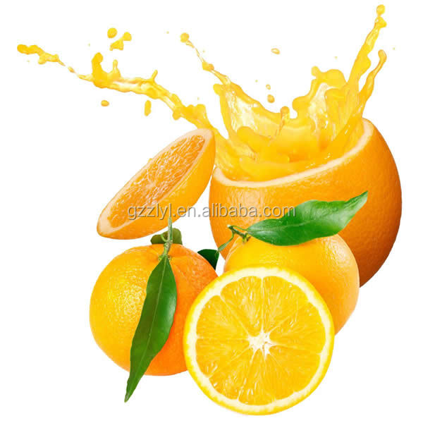 Factory outlets orange flavored fruity syrup