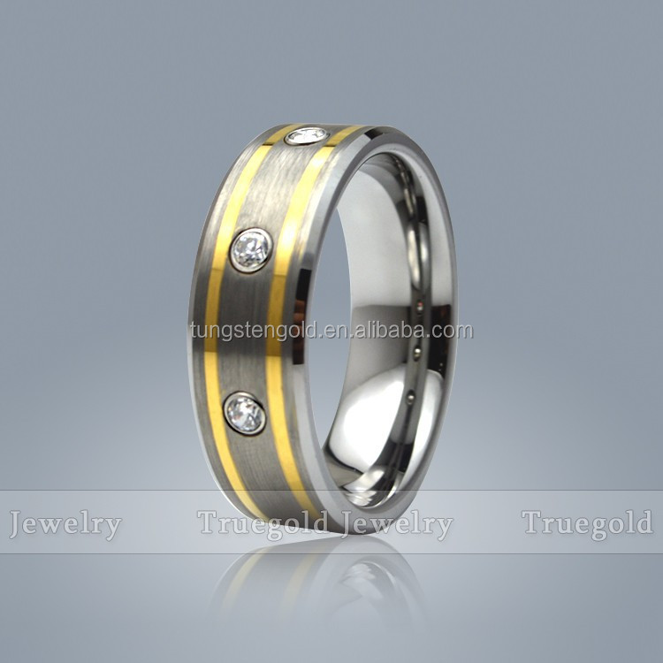 2014 titanium forged wholesale stretch 14k gold ring mounting
