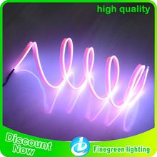customize high brightness and safe el advertising wire for clothes