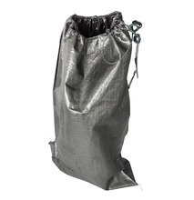 BLACK 55*95cm 70*110CM recycled construction waste pp woven bags for packing trash garbage bag
