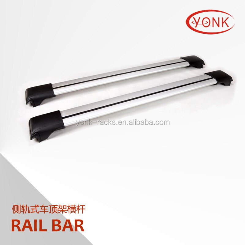 Aluminum car roof rack 4x4 SUV cross bar luggage rack universal car roof rail