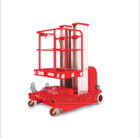Full Electric Self Propelled Aluminum Work