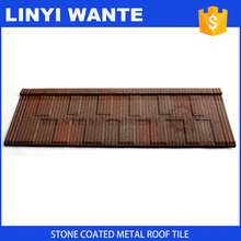 durability and anti rust roofing sheet, stone chips coated metal roof tile