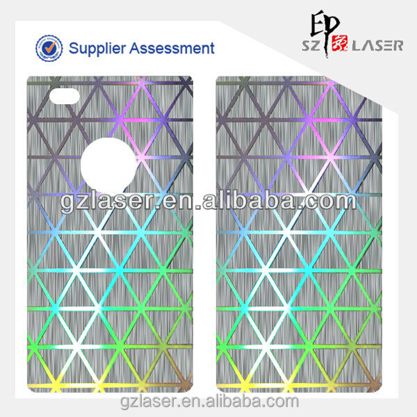 New design hologram screen protection film for mobile phone