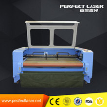 large scale 100w fabric laser cutting machines used garment industry