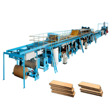 3,5,7 Layer corrugated cardboard production line carton corrugated box making machine price