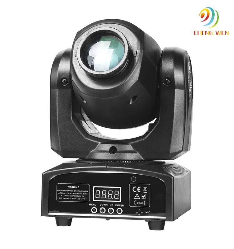 Rotating stage light 30w spot moving head gobo effect light