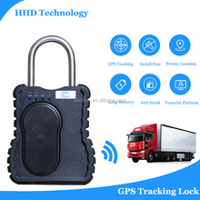 Container GPS lock tracker lock/unlock with remote control Alarm System