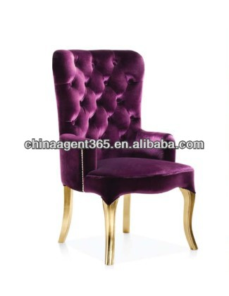 3 years warranty luxury leather dining chair with best cost performance
