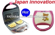 2012 hot sell portable waffle stick maker