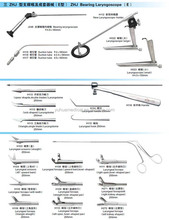 laryngoscope surgical instruments set for ENT surgery