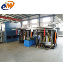 High Efficiency Hydraulic Tilting Melting Furnace Intermediate Frequency Melting Furnace Electric Induction melt furnace