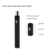 2017 Newest product match with ceramic glass cartridge preheat vv cbd ecig battery 350mah
