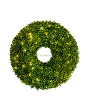 40cm artificial boxwood wreath artificial leaves garland