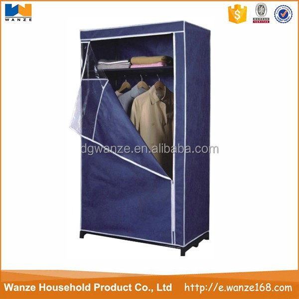 assemble plastic portable wardrobe closet
