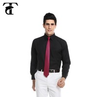 long sleeve french cuff 100% cotton shirts for man