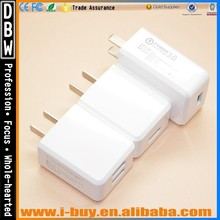 Input 110-240v output 5v 3A usb travel charger