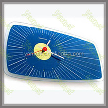 New Acrylic wall clock Fashion shape wall clock with barometer and thermometer Shenzhen Acrylic product OEM ODM