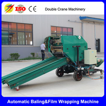 Full automatic grass silage baler for cattle farm use wholesales price