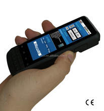 barcode scanner smartphone with 1D/2D barcode scanner, wifi ,3G (IP65,4000mAH battery)