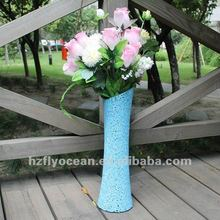 cheap Blue Mosaic flower Vase