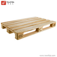Fumigation Recyclable with EPAL License Solid Wood Pallet