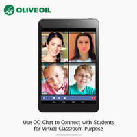 7.85-inch Video Conferencing Tablet for Virtual Classroom Olive Oil CT3 with Smart Apps, IPS and Quad-Core, CE/FCC/CCC Approved