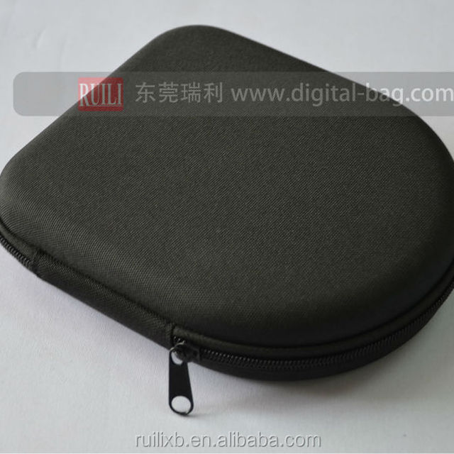 Hot selling earphone cable cord carrying case eva earphone cable storage case