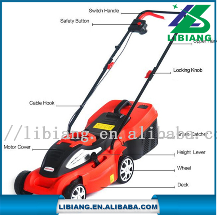 Hot sale 1400W electric lawn mower,grass cutter,grass cutter machine price