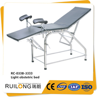 Multifunction Steel Baby Birth ob gyn Bed For Hospital