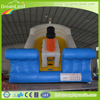 China cheap big inflatable slides inflatable dry/ water slides for kids and adults