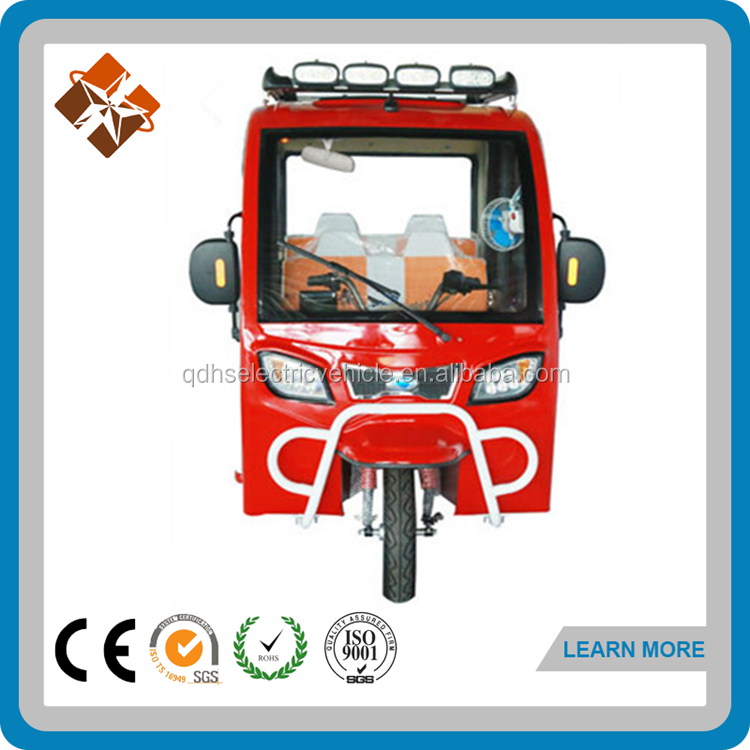 all closed bajaj three wheeler electric rickshaw for sale